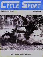 Cycle Sport November 1965
