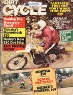 Dirt Cycle December 1975