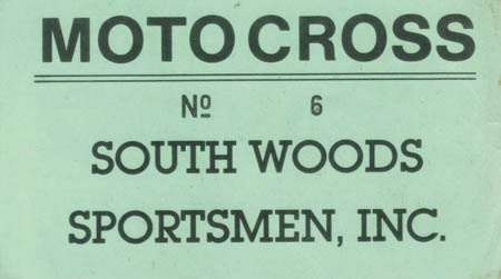 South Woods Admission Ticket