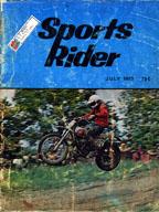 Sports Rider July 1973