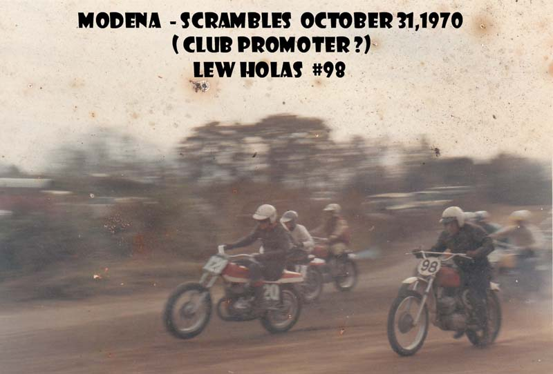Modena 72 and Lew Holas