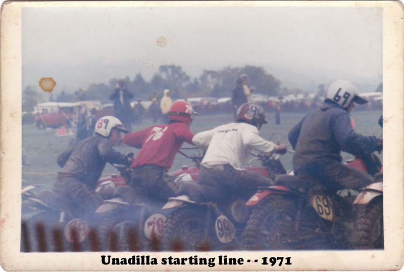 Unadilla Starting Line 1971